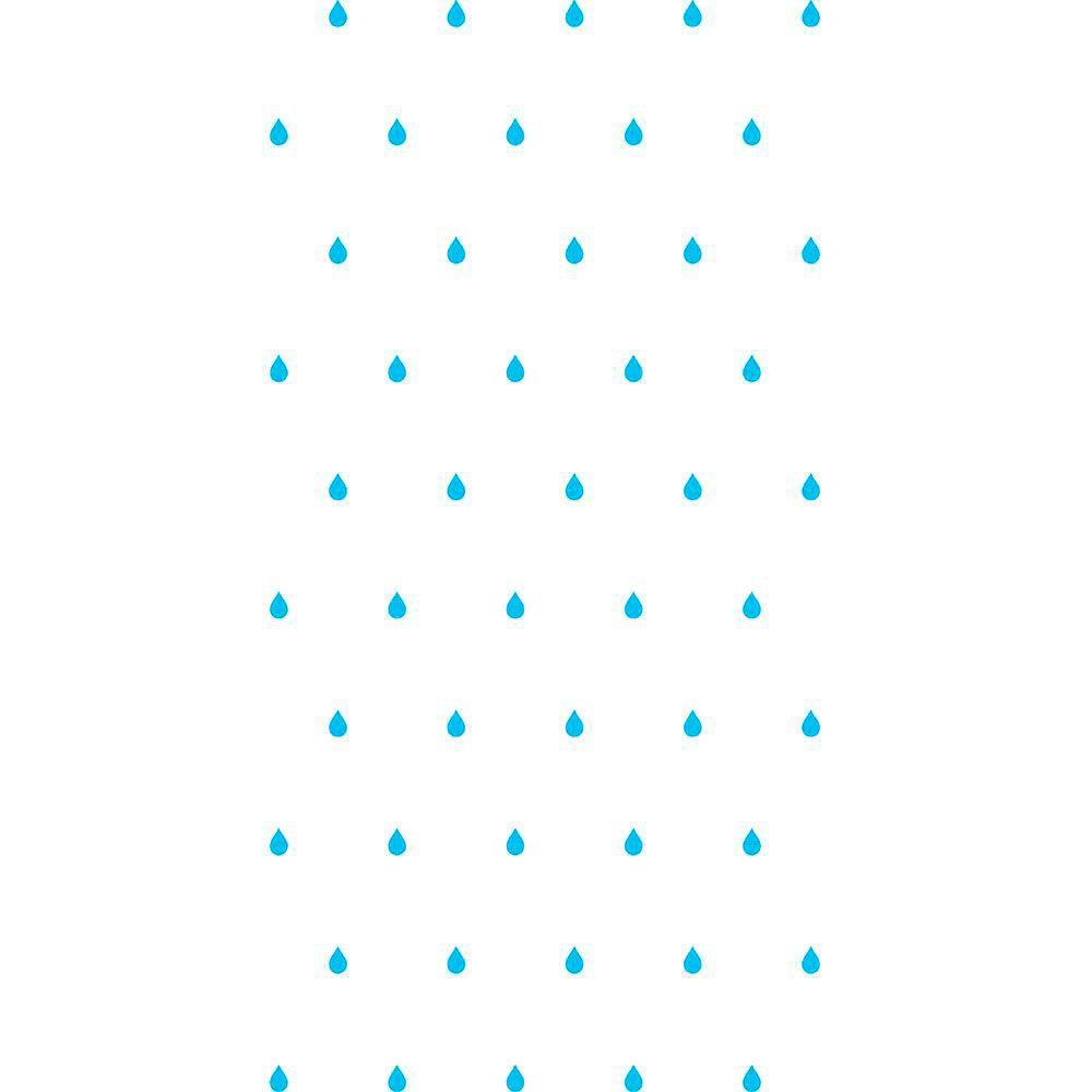 Adesivo de Parede Gotas Azuis