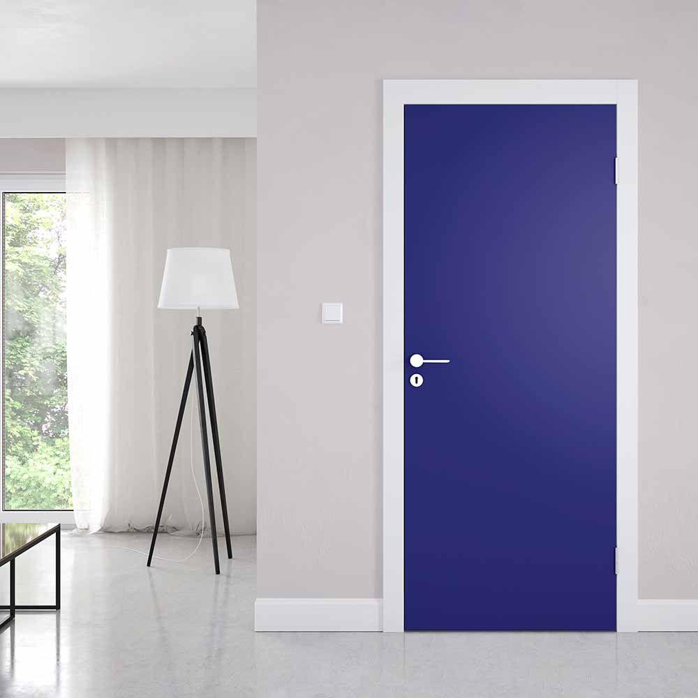 Adesivo de Porta Azul Marinho