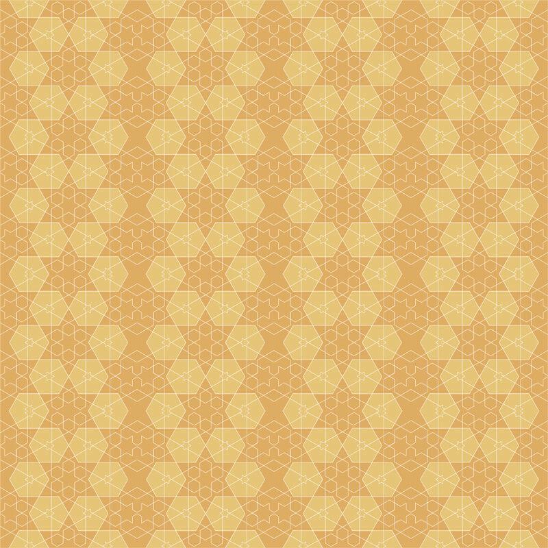Adesivo de Azulejo Amarelo