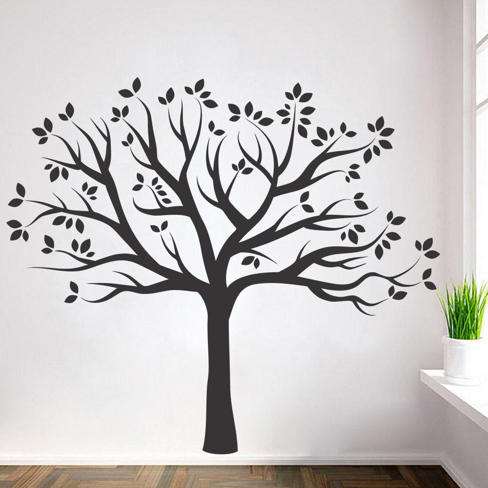 Adesivo de Parede Árvore Folhas Secas