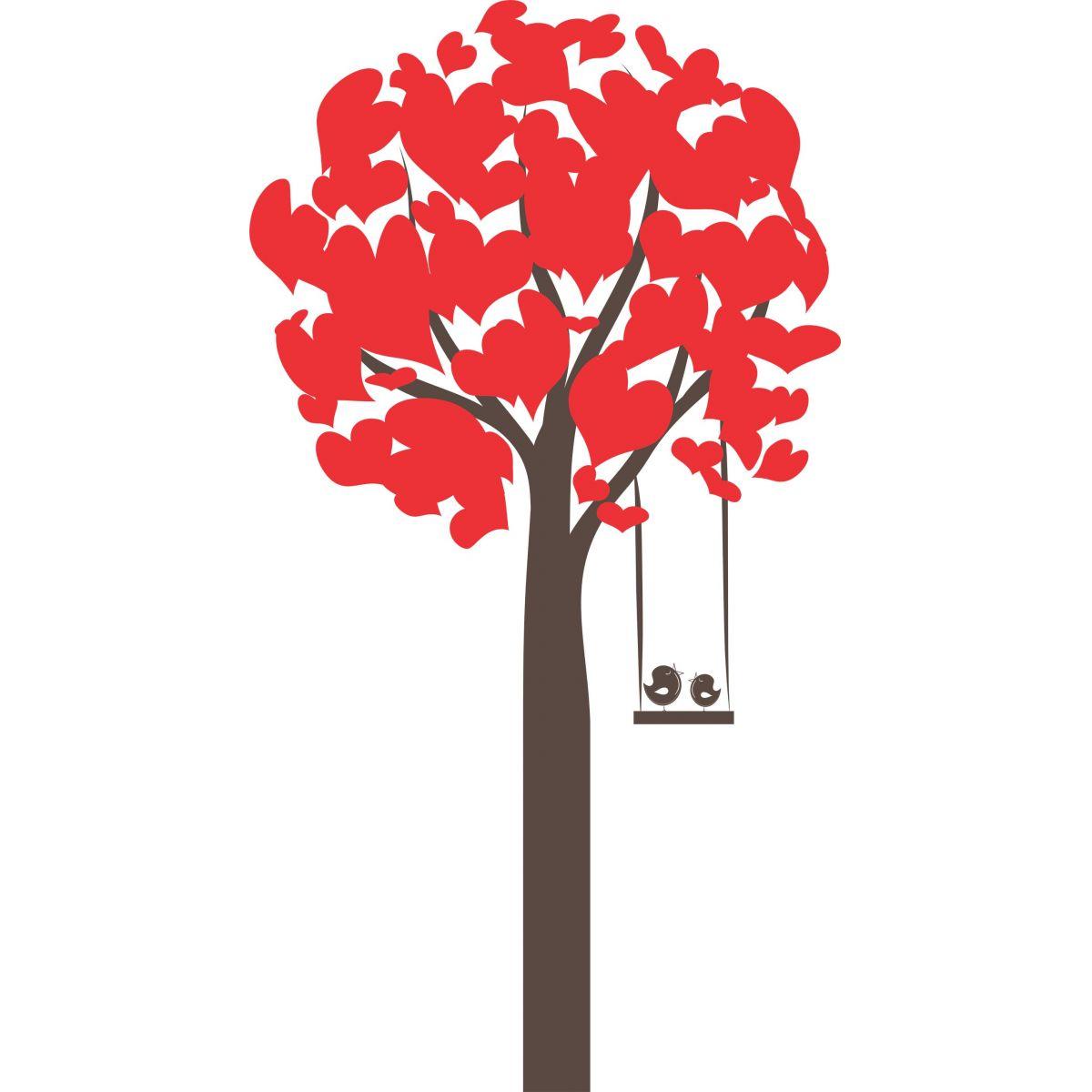 Adesivo de Parede Árvore Pássaros