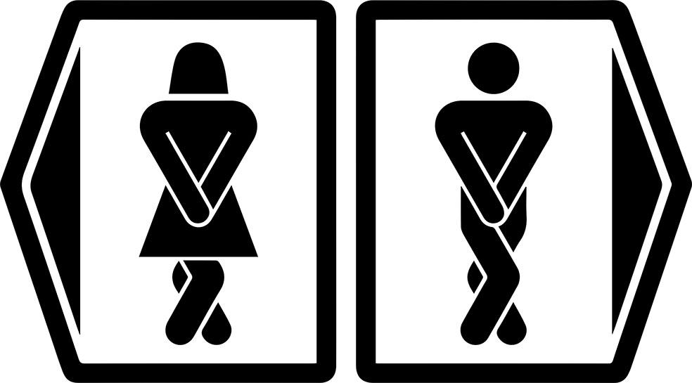 Adesivo de Parede Banheiro Unissex