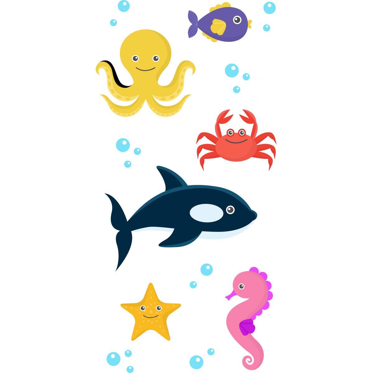 Adesivo de Box Oceano Infantil