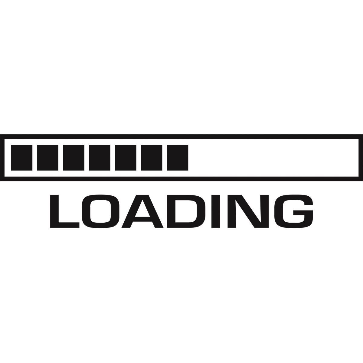 Adesivo de Parede Divertido Loading