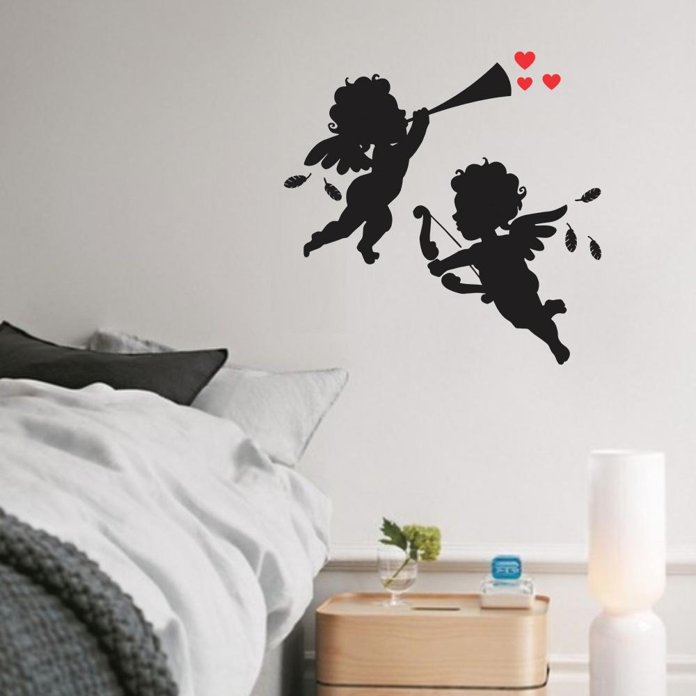Adesivo de Parede Anjos Cupido