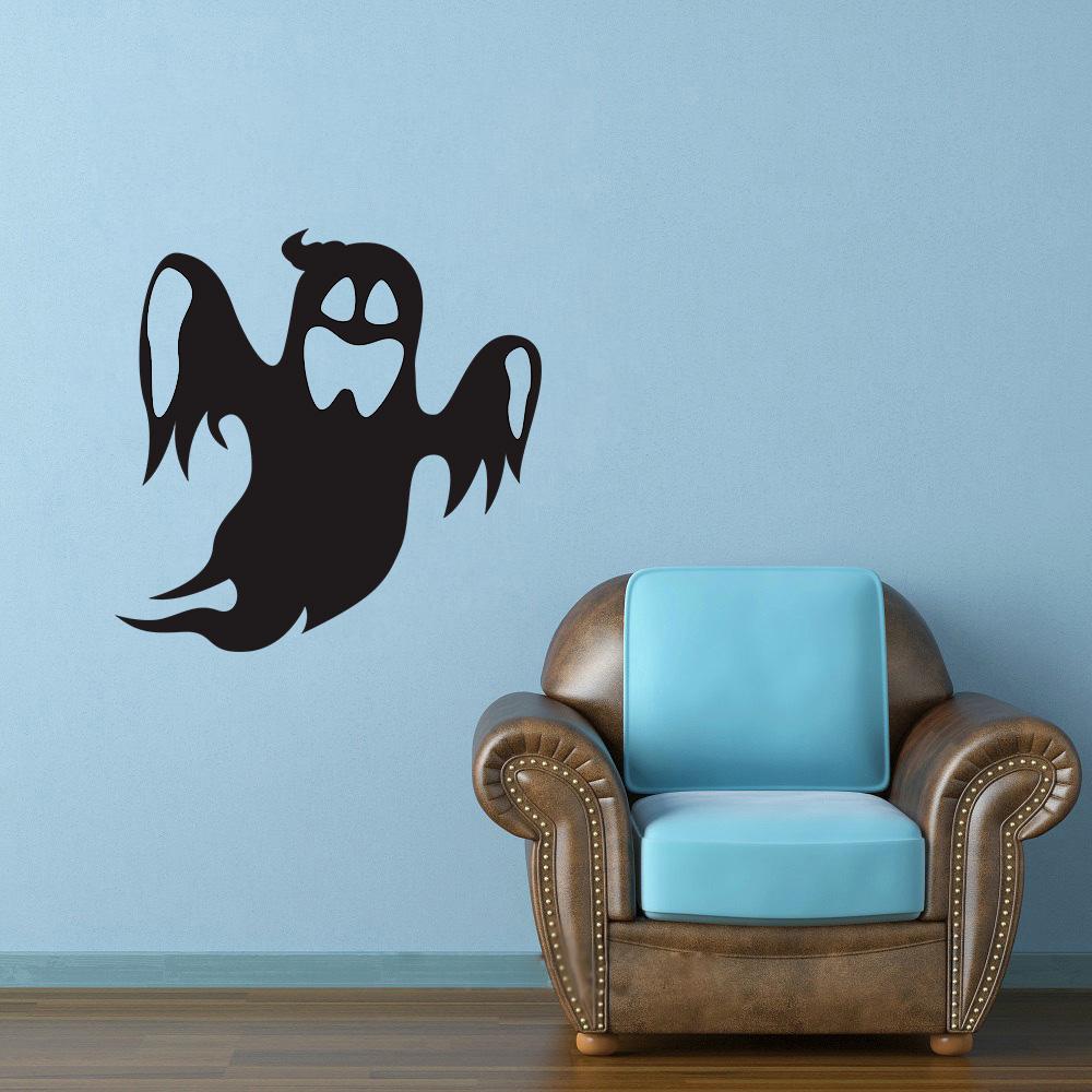 Adesivo De Mesversario ~ Adesivo Decorativo de Parede Halloween Fantasma SHOP ADESIVOS