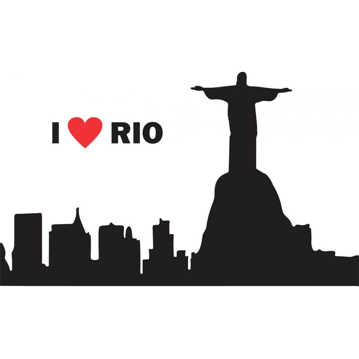 Adesivo de Parede I Love Rio