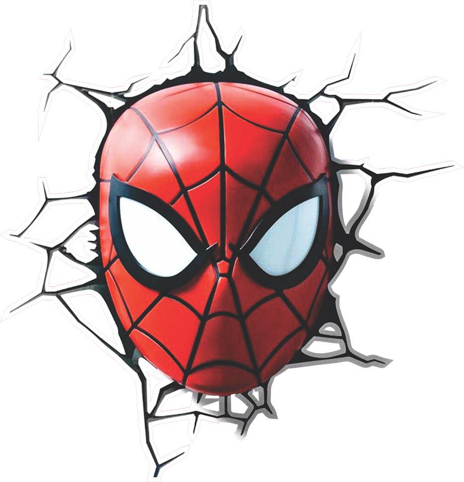 Adesivo de Parede Buraco Homem Aranha
