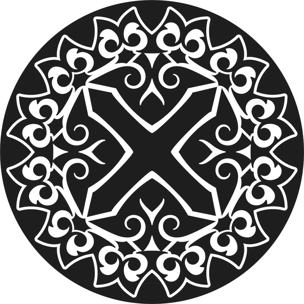 Adesivo de Parede Mandala