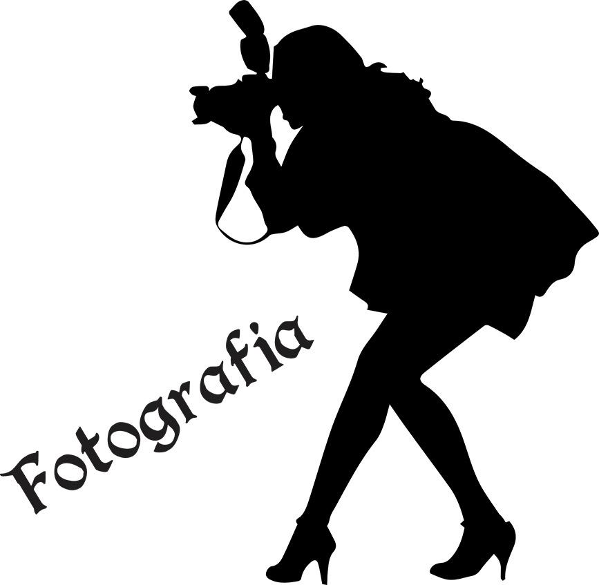 Adesivo de Parede Profissões Fotografia Fotógrafa