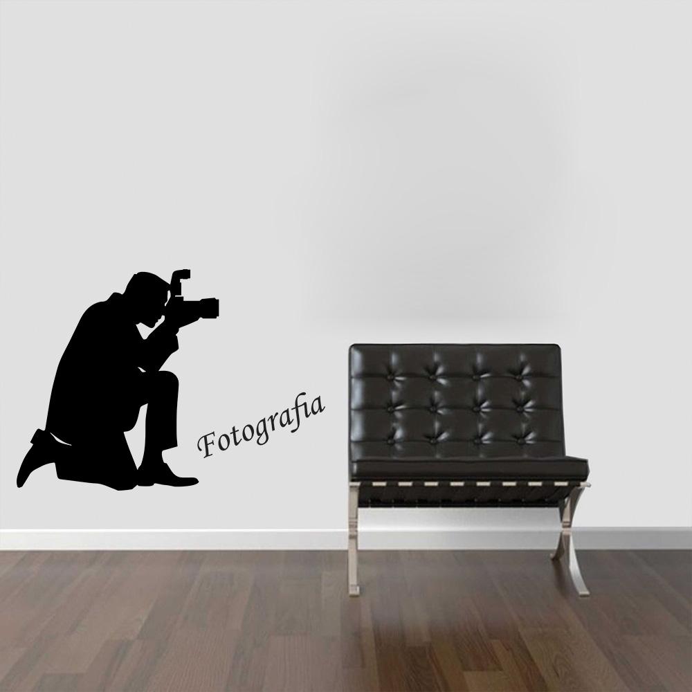 Adesivo de Parede Profissões Fotografia Fotógrafo
