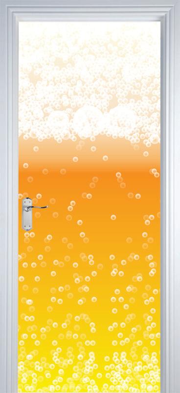Adesivo de Porta Cerveja