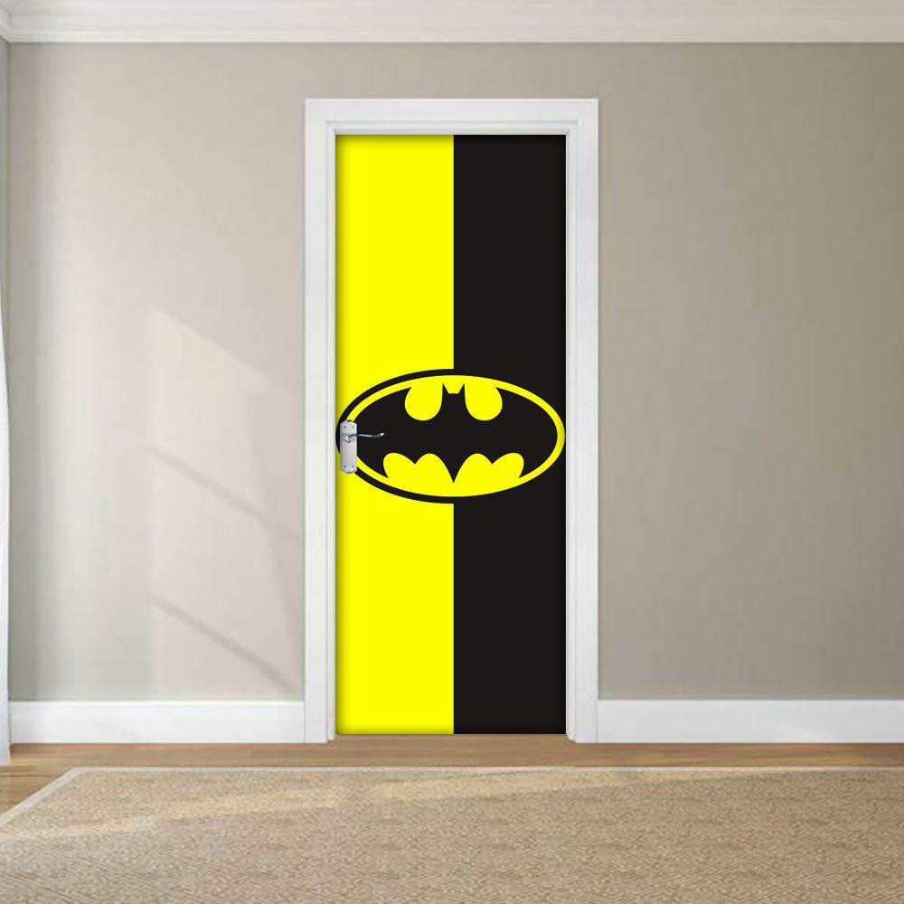 Adesivo para Porta Batman Morcego