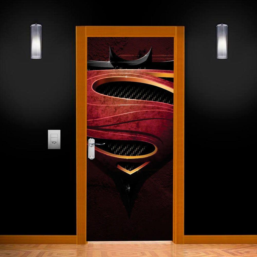 Adesivo para Porta Batman vs Superman