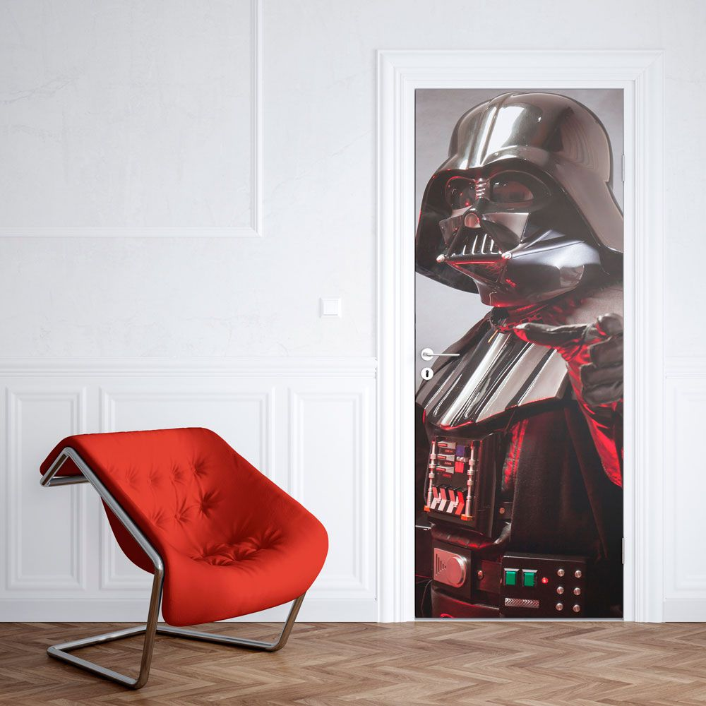 Adesivo de Porta Darth Vader Star Wars Geek Sangue Jedi Lado