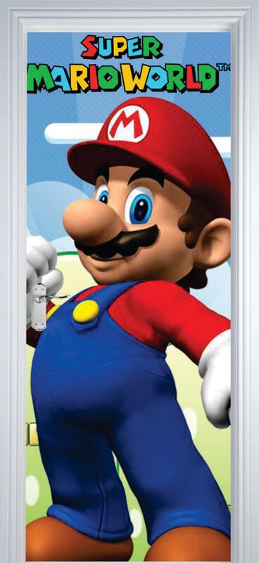 Adesivo de Porta Super Mario World