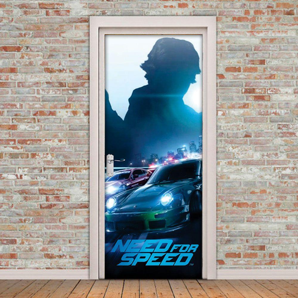 Adesivo de Porta Need For Speed Carro
