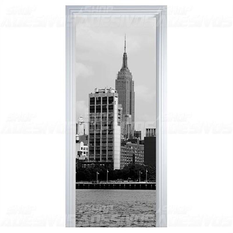 Adesivo de Porta Nova York
