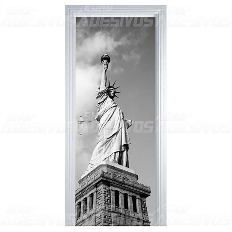 Adesivo de Porta Estátua da Liberdade