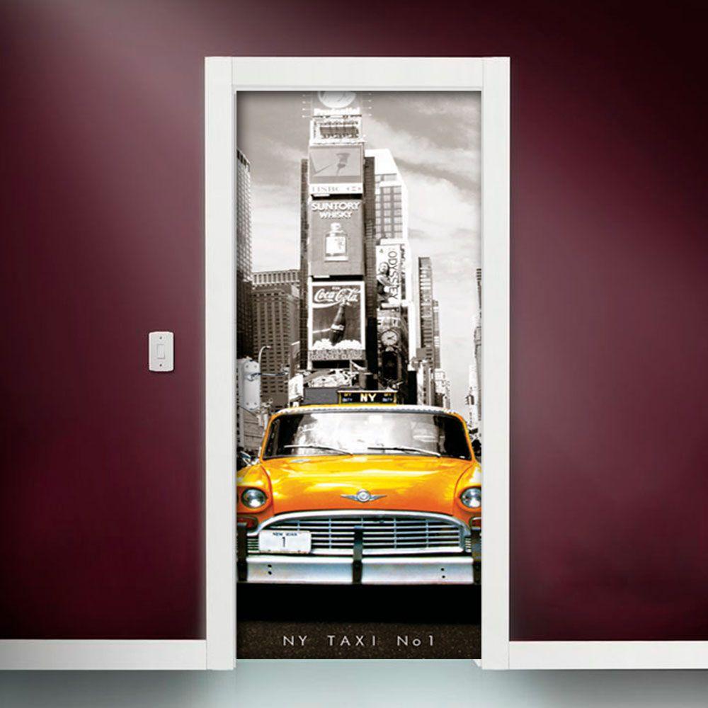 Adesivo de Porta Taxi Nova York