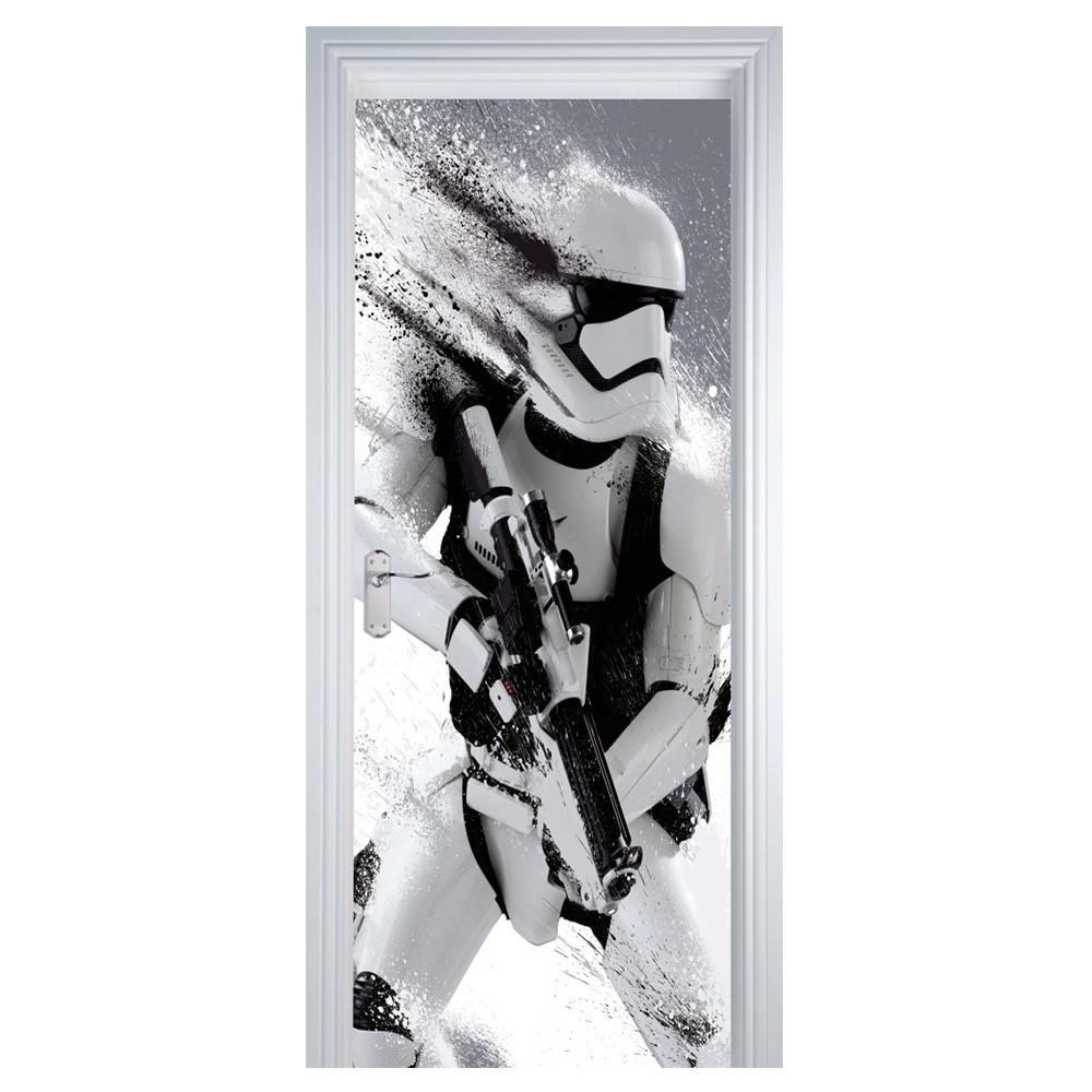 Adesivo Parede Dente De Leão ~ Adesivo Decorativo de Porta Soldado Star Wars SHOP ADESIVOS