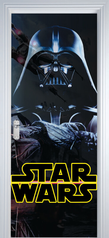Adesivo de Porta Star Wars Darth Vader
