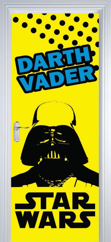 Adesivo Parede Dente De Leão ~ Adesivo Decorativo de Porta Star Wars 2