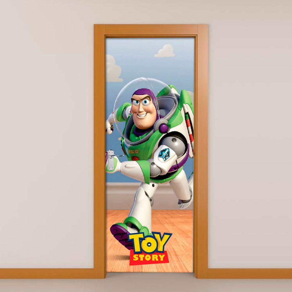 Adesivo de Porta Toy Story Buzz Lightyear