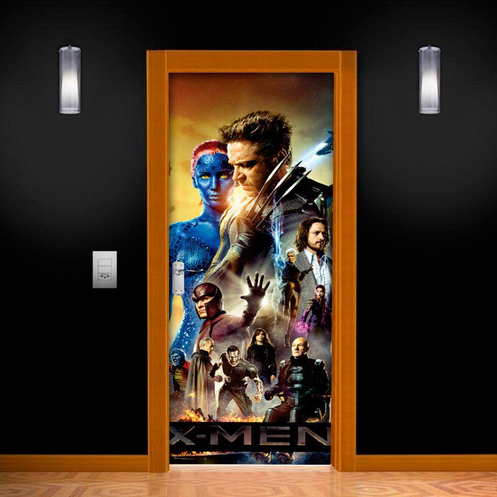Adesivo de Porta X-Men