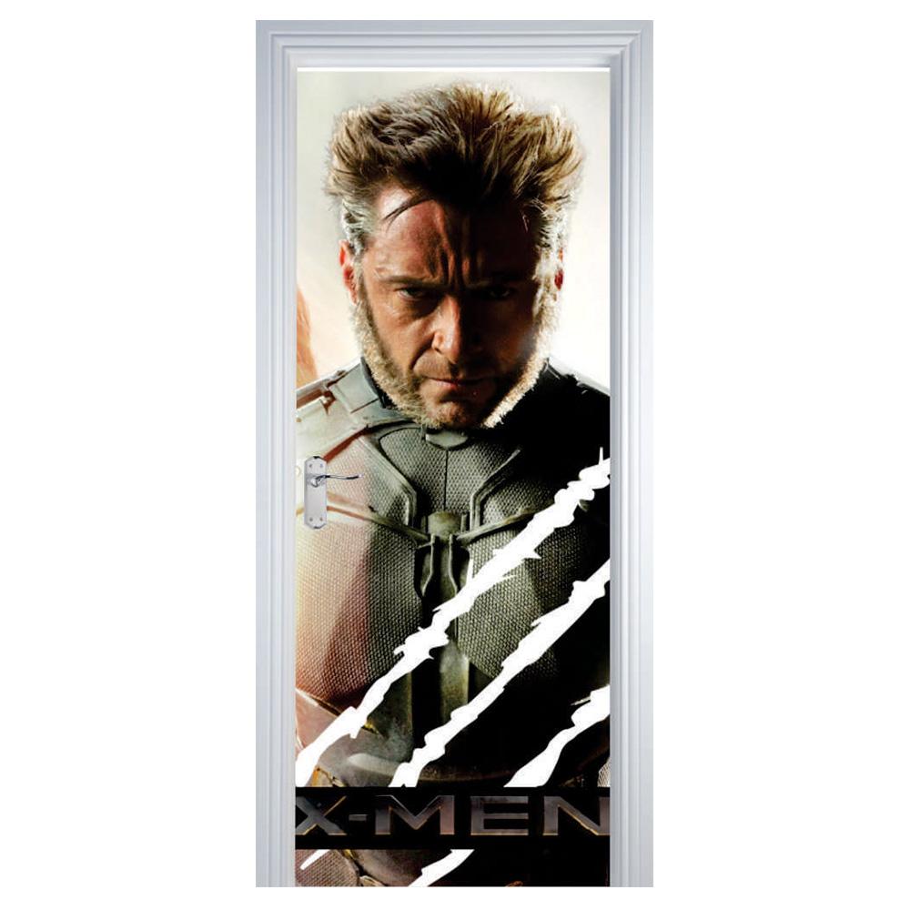 Adesivo de Porta X-Men Wolverine