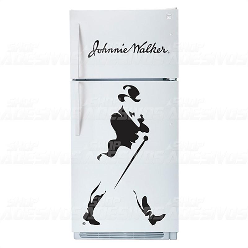 Adesivo de Geladeira Johnnie Walker Uísque