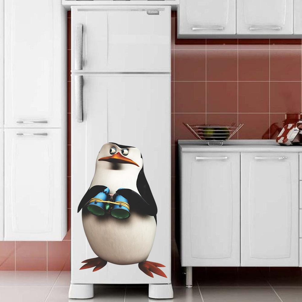 Adesivo de Geladeira Pinguim de Madagascar