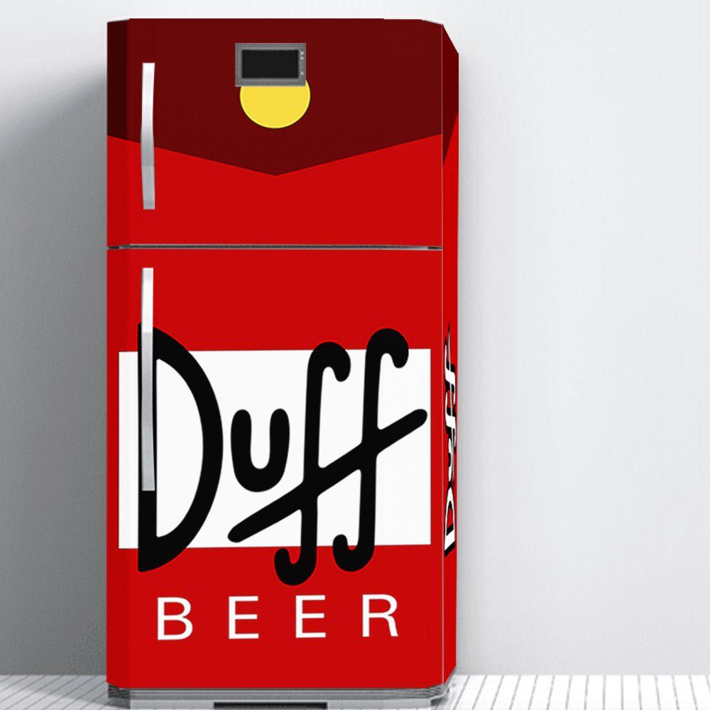 Envelopamento de Geladeira Cerveja Duff Beer