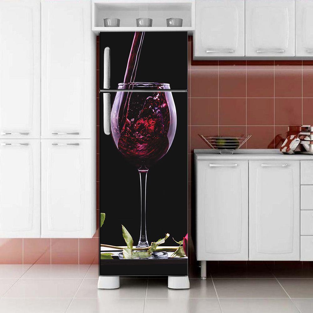 Envelopamento de Geladeira Vinho na Taça