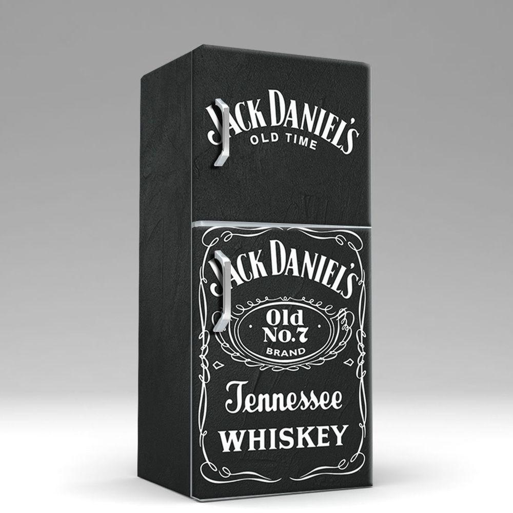 Envelopamento de Geladeira Whisky Jack Daniels