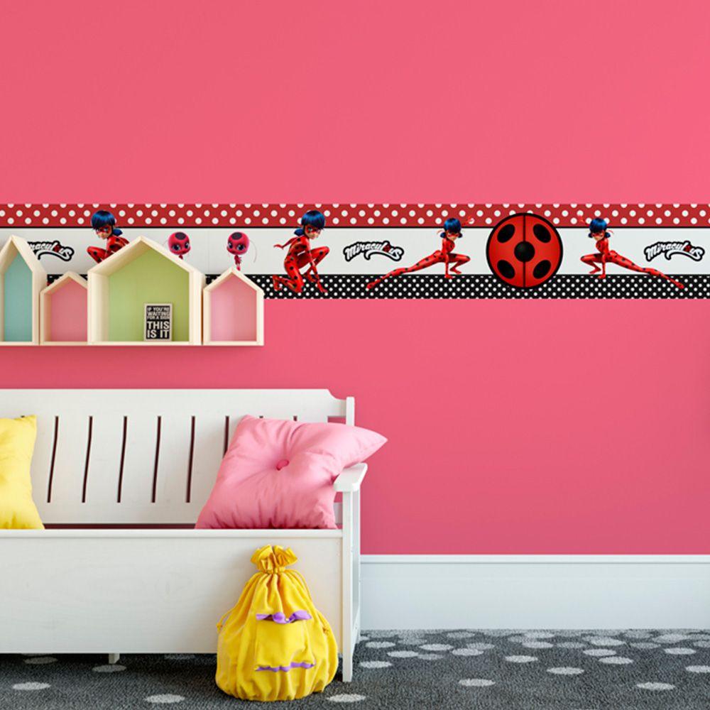 Faixa Infantil Miraculous Ladybug Vermelho