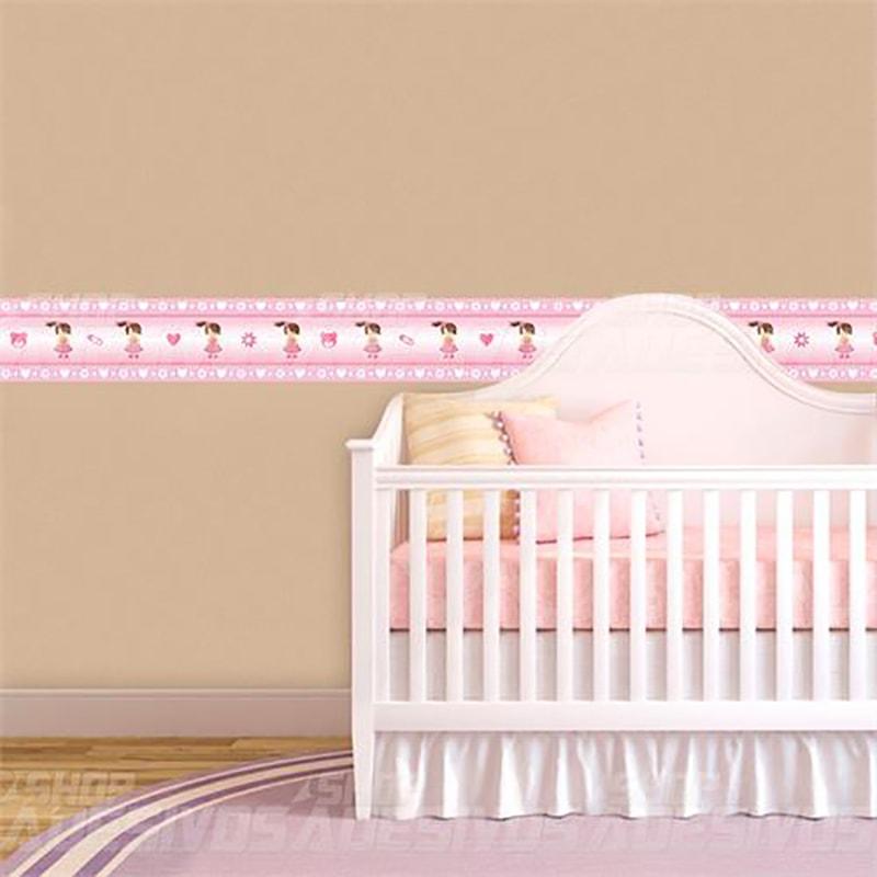 Faixa Infantil Boneca Rosa
