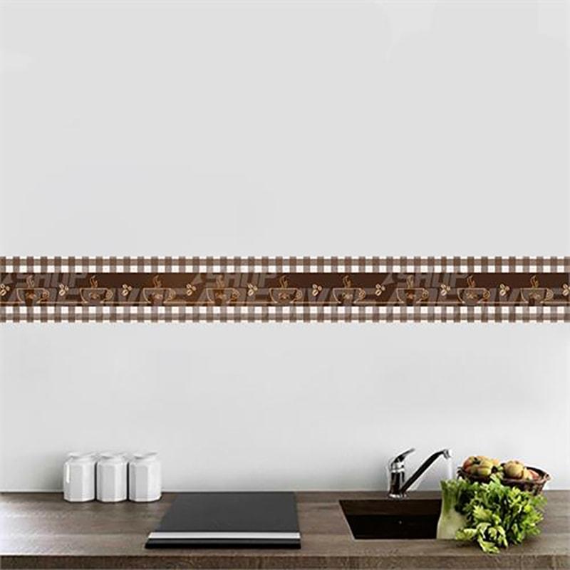 Faixa decorativa cozinha caf 1 for Ceramica decorativa pared