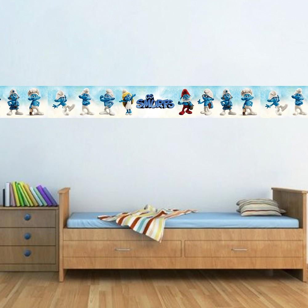 Faixa Infantil Smurfs Azul