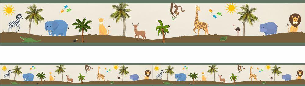 Faixa Infantil- Brincando na Selva