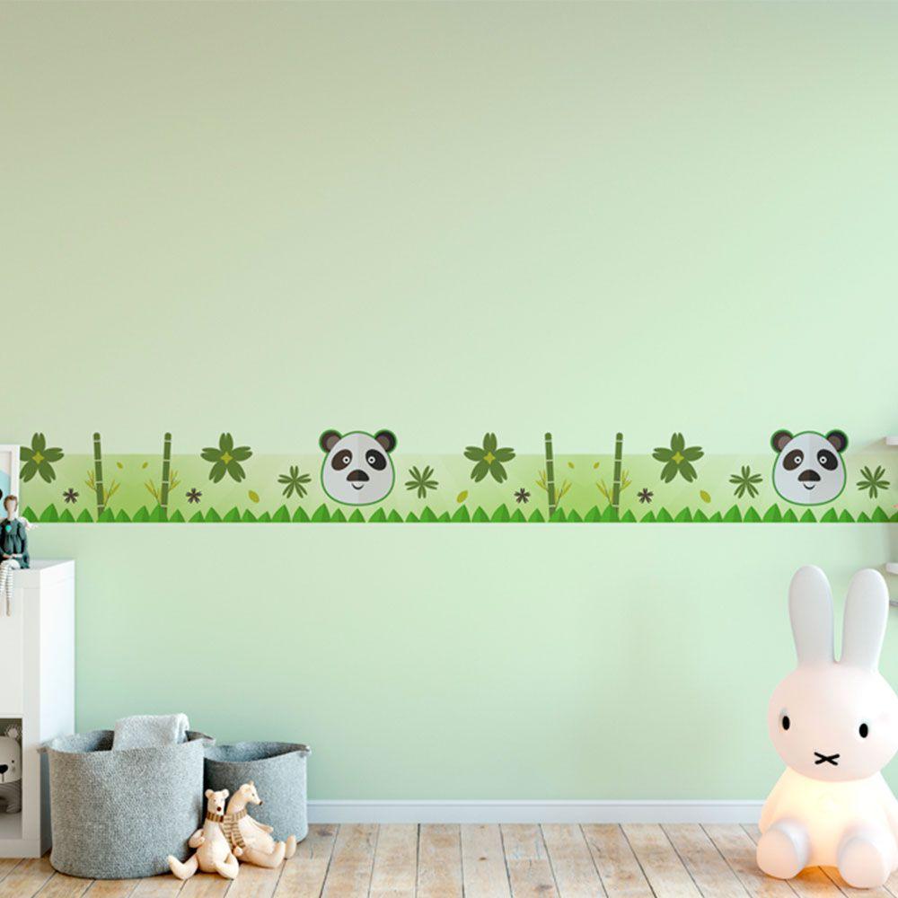 Faixa Infantil Recortada Urso Panda
