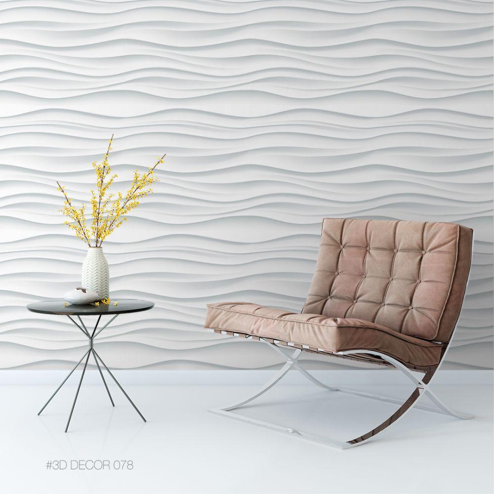 Papel de Parede Autoadesivo 3D Neutro/78