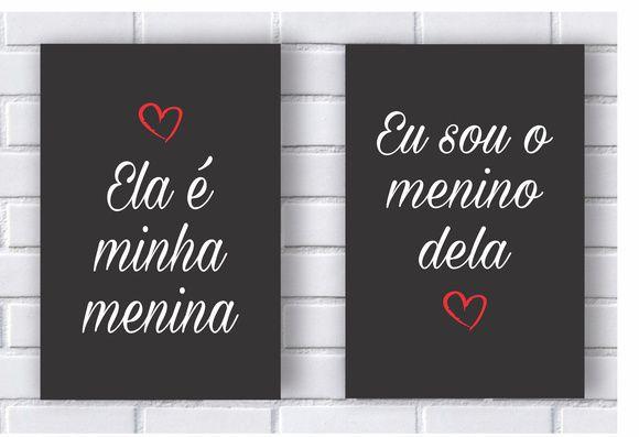 Placa Decorativa Personalizada Amor