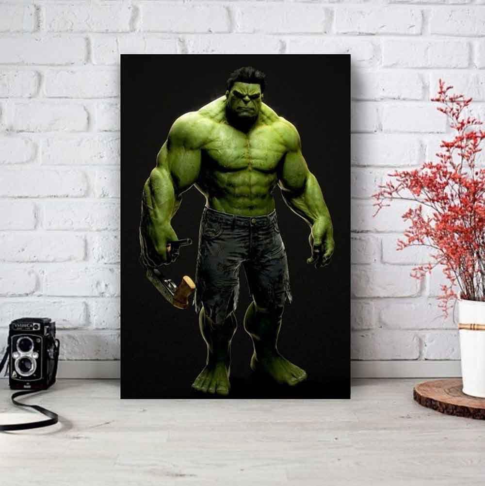 Placa Decorativa Personalizada Hulk
