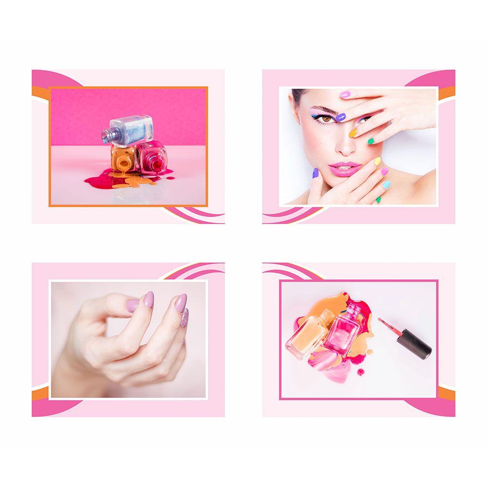 Quadro Profissão Manicure Esmalte