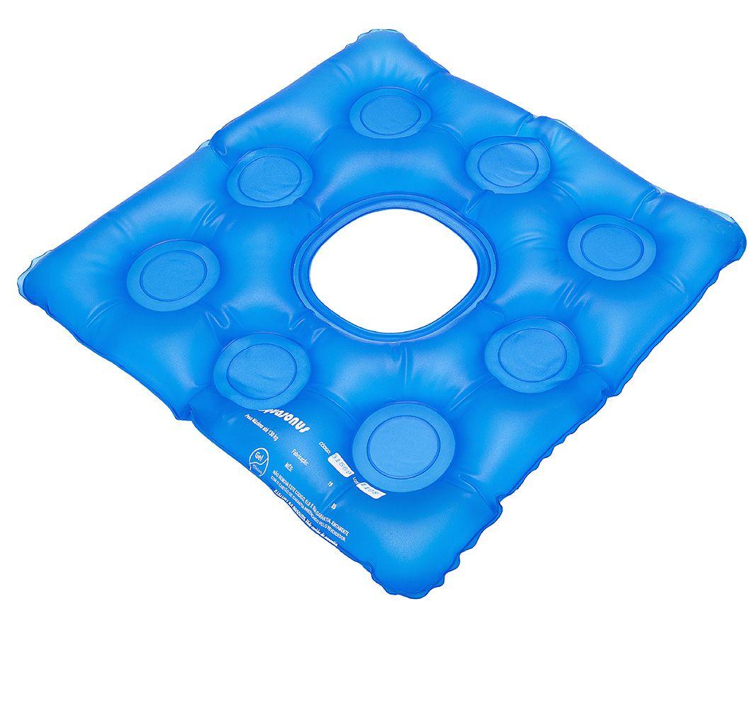 Almofada D'água Caixa de Ovo Quadrada com Orifício Anti-Escaras