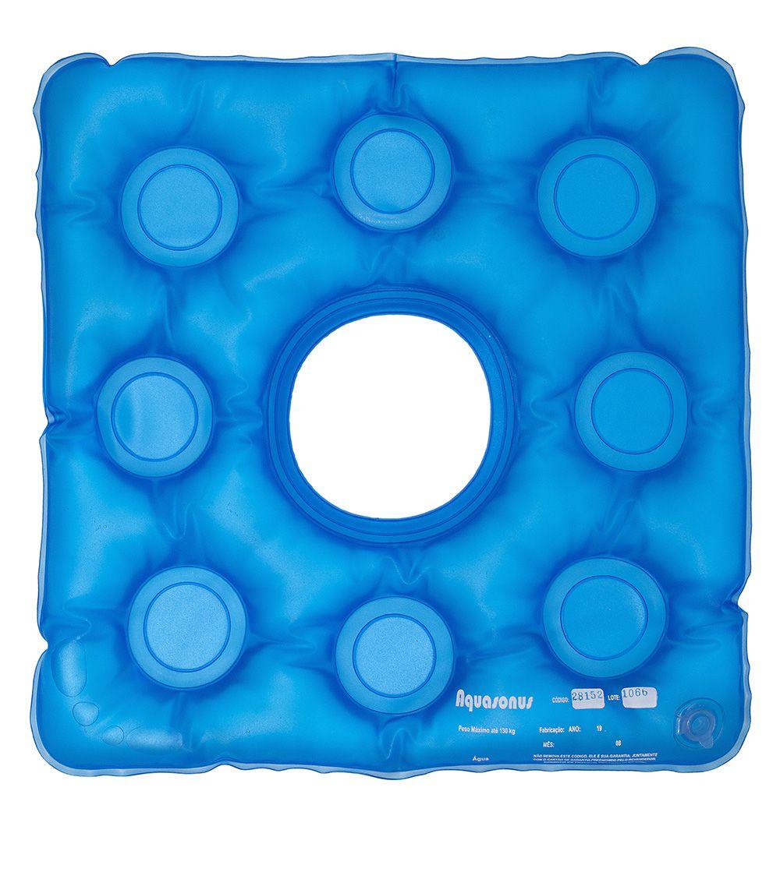 Almofada de Gel Caixa de Ovo Quadrada com Orifício Anti-Escaras