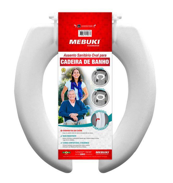 Assento Sanitário para cadeira de banho -  Mebuki