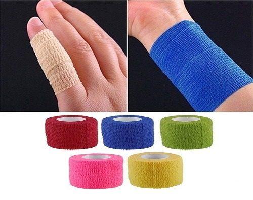 Atadura/Bandagem Elástica Adesiva Flexível Tipo Coflex