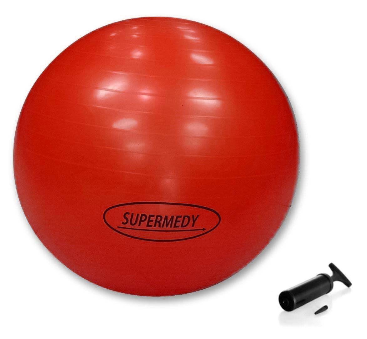 Bola de Ginástica Pilates, Funcional e Yoga 45 cm - SUPERMEDY
